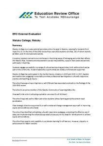 thumbnail of ERO External Evaluation 2017